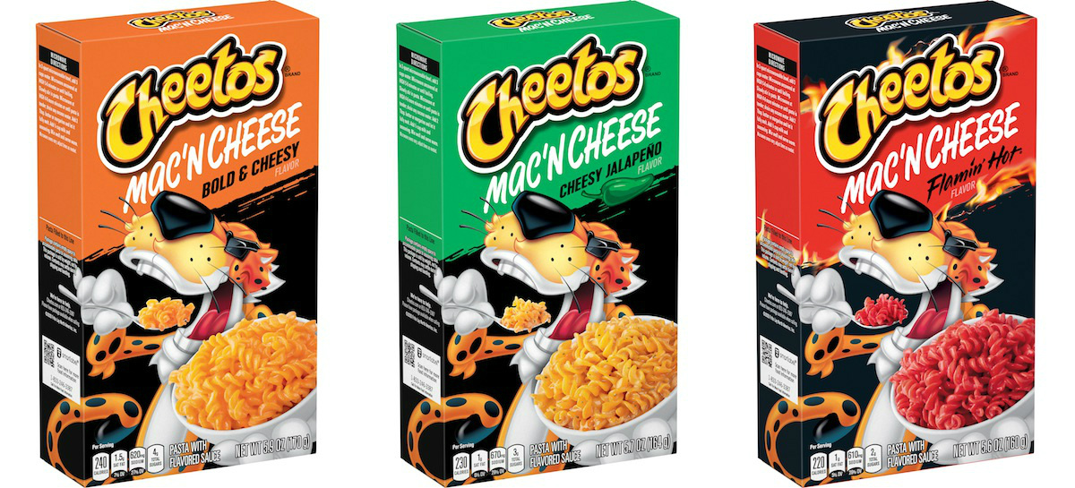 Cheetos Is Making Dinner Dangerously Cheesy With New Line Of Mac 'N Cheese